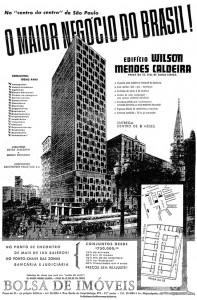 Folder de lançamento do Edifício Wilson Mendes Caldeira.