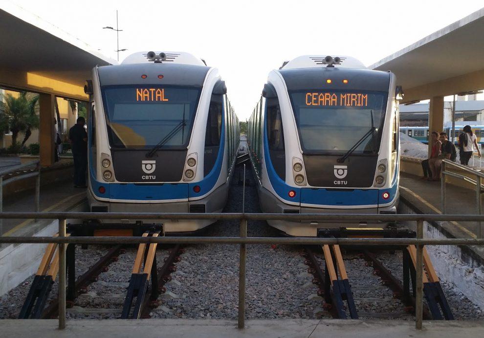 Resultado de imagem para Trens Urbanos de Natal