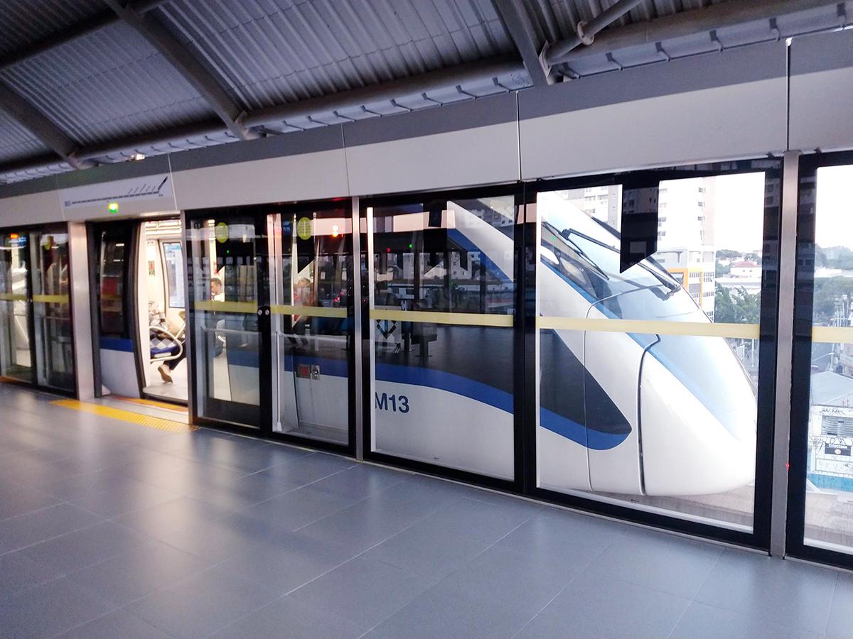 Monotrilho da Linha 15-Prata ficará fechado em alguns horários em todos os dias do feriadão - Via Trolebus