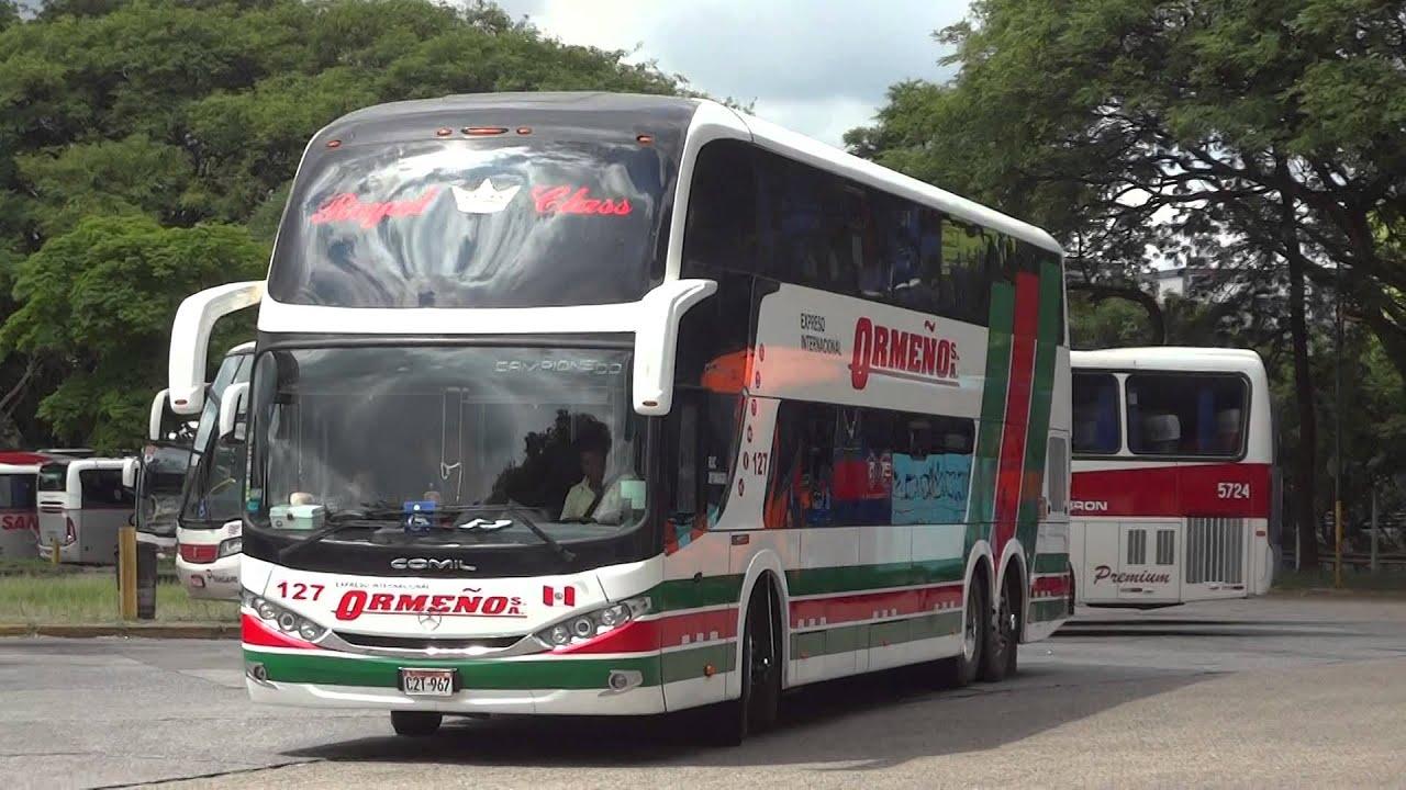 Linha de ônibus que liga Brasil ao Peru ganha partidas de Cuiabá (MT)