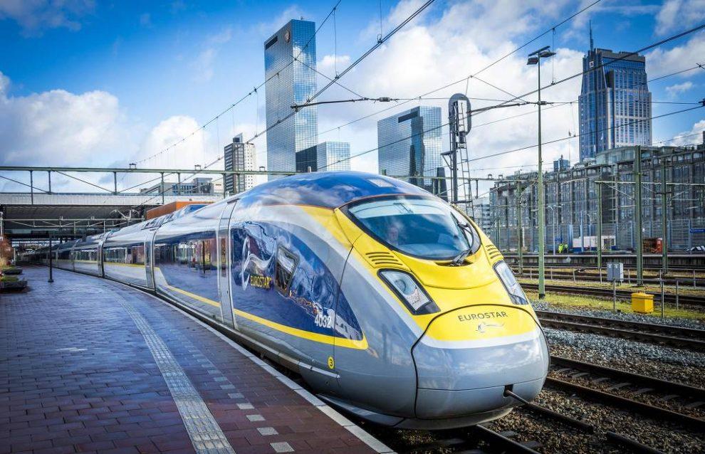 Resultado de imagem para eurostar trem