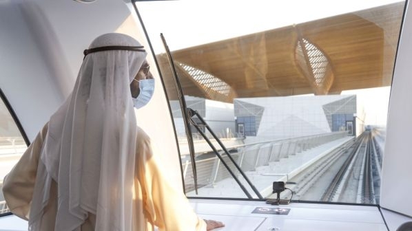 Sheikh-Mohammed-visits-new-metro-extension