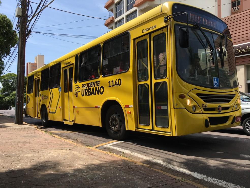 President Prudente has a bus strike this Monday (25) - Via Trolebus